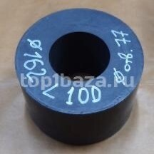Изоляционные материалы - Фторопласт графитонасыщенный d - 162 , L 100 , d отв - 77 , кг - 3,43, 0