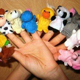 Кукольный театр - Кукольный театр на пальцы Звери. 10шт., 0