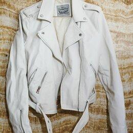 Куртки - Levi's косуха кожаная женская, 0