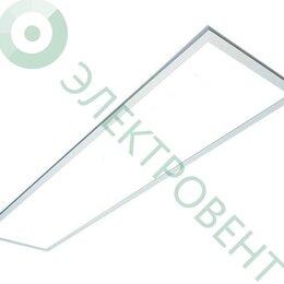 Настенно-потолочные светильники - FL-LED PANEL-CL40Std White 4200K 1195*295*10мм 40Вт 3400Лм, 0