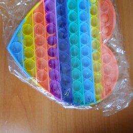 Игрушки-антистресс - Сенсорная игрушка-антистресс pop it с пузырьками, 0