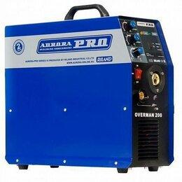 Сварочные аппараты - Сварочный аппарат aurora overman 200, 0