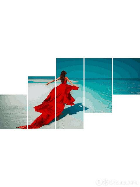 Девушка у моря Артикул : LS 1019 по цене 1300₽ - Дизайн, изготовление и реставрация товаров, фото 0