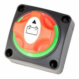 Концевые, позиционные и шарнирные выключатели - Выключатель массы ''OFF-1-BOTH-2'' (2 АКБ), 12/24, Skipper, 0
