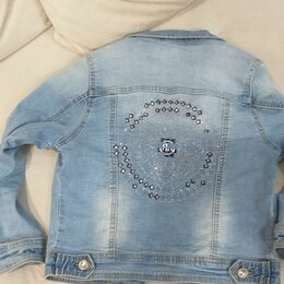 Куртки и пуховики - Джинсовая куртка фирмы lee sanforized, 0
