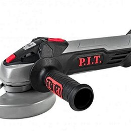 Шлифовальные машины - Аккумуляторная бесщеточная угловая шлифмашина P.I.T. PWS20H-125C/1, 0