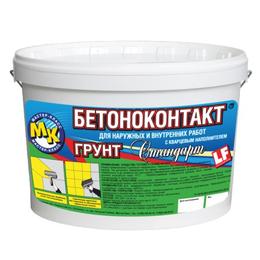 Краски - Грунтовка Мастер-Класс Бетоноконтакт стандарт универсальная 20 кг , 0