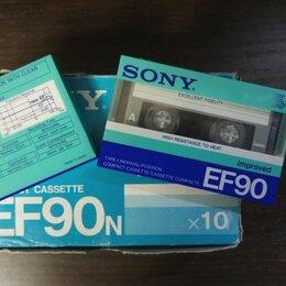Музыкальные CD и аудиокассеты - Аудиокассеты Sony EF90n Improved новые в упаковке, 0