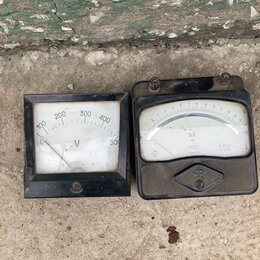 Измерительное оборудование - Вольтметр, 0