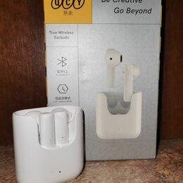Наушники и Bluetooth-гарнитуры - Беспроводные наушники QCY T12 Новые, 0