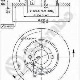 Тормоза - Диск Торм.Seat Inca 6k9 11/95-06/03 Brembo арт. 08.5149.14, 0