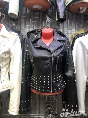 Женская куртка кожаная по цене 4500₽ - Куртки, фото 0