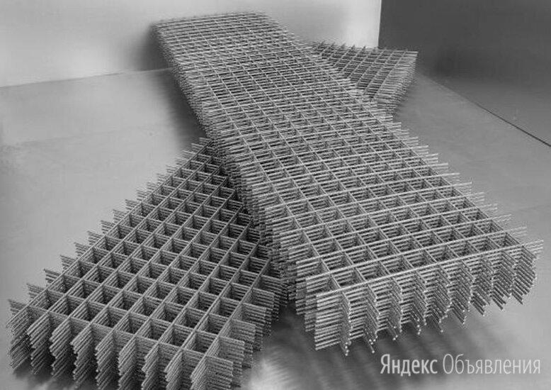 Сетка сварная 200х50х6 мм А1 ГОСТ 23279-2012 по цене 39425₽ - Металлопрокат, фото 0