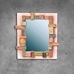 Зеркала - Зеркало в деревянной рамке, 0