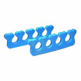 Устройства, приборы и аксессуары для здоровья - Разделители синие China Разделители одноразовые для пальцев Разделители синие, 0