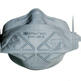 Средства индивидуальной защиты - Полумаска противоаэрозольная фильтрующая складная класс защиты FFP1 NR D..., 0