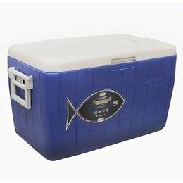 Контейнеры и ланч-боксы - Контейнер изотермический Camping World Fisherman 46 л с люками (цвет - синий), 0