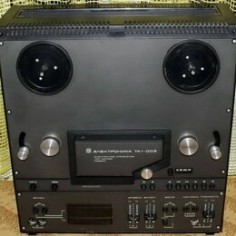 Музыкальные центры,  магнитофоны, магнитолы - Магнитофон-приставка Электроника та1-003, 0