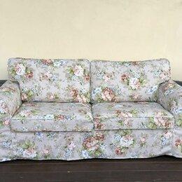 Чехлы для мебели - Чехол для дивана-кровати Экторп 2-местный (икеа), 0