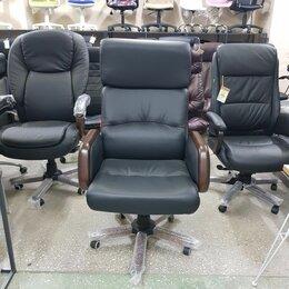 Компьютерные кресла - Кресло руководителя кожа, 0