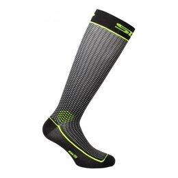 Колготки и носки - Sixs Носки SIXS LONG2, LON2III-NEGI, цвет Черный/Желтый, размер 44 - 47, 0