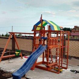 Игровые и спортивные комплексы и горки - Детская деревянная игровая площадка - аляска, 0