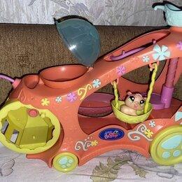 Игровые наборы и фигурки - Игровой набор littlest pet shop машинка для зверюшек 93140, 0