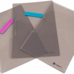 Упаковочные материалы - Папка - клип  А4   Lamark, 0,5мм   ассорти, 0