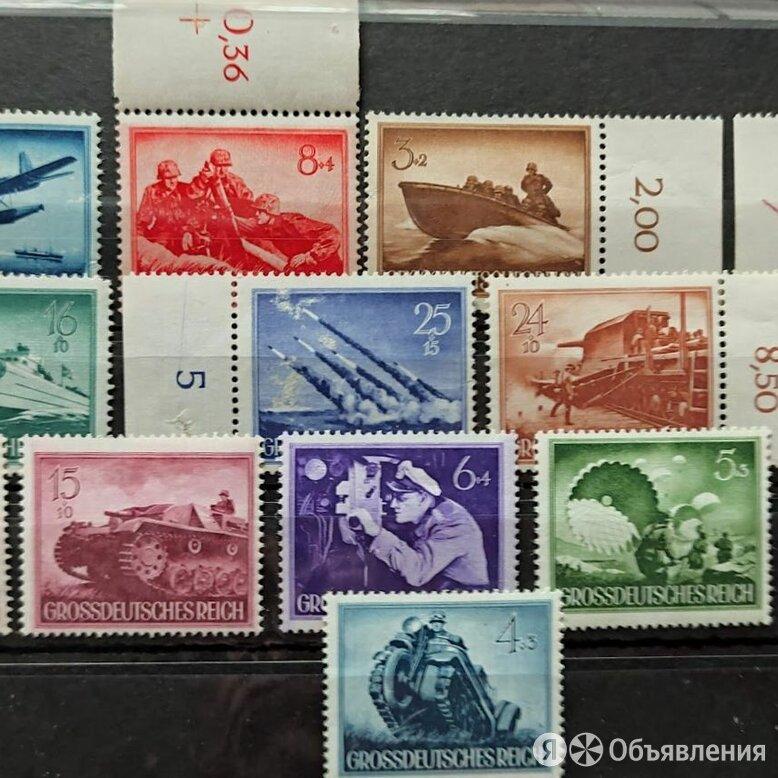 1944 ГЕРМАНИЯ РЕЙХ - ПОЛНАЯ СЕРИЯ ДЕНЬ ПАМЯТИ ГЕРОЕВ MNH OG !!! по цене 1000₽ - Марки, фото 0