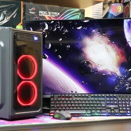 Настольные компьютеры - Мощный i3-10100F GTX 1650 Super 4GB 8GB RAM 480 GB NEW, 0