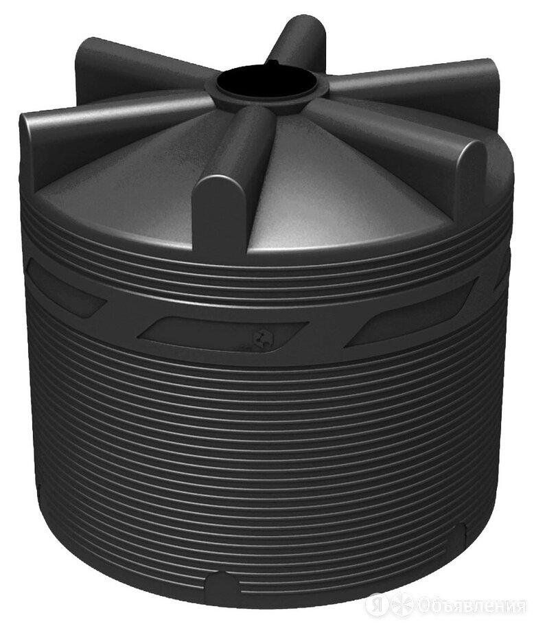 Вертикальная накопительная емкость V-8000 (Черная) по цене 69900₽ - Газовые баллоны, фото 0