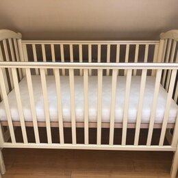 Кроватки - Детская Кроватка итальянская Pali слоновая кость, 0