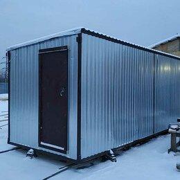 Готовые строения - Блок-контейнер метал. бк-01 6*2,4*2,4, 0