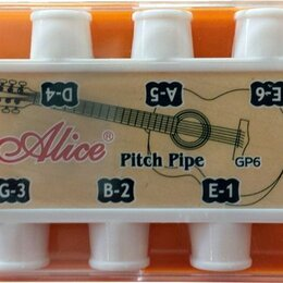 Тюнеры и метрономы  - Духовой Камертон Alice Pitch Pipe GP6, 0