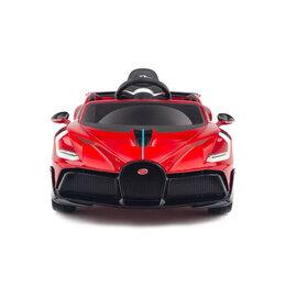 Электромобили - Детский электромобиль Bugatti Divo 12V - RED - HL338, 0