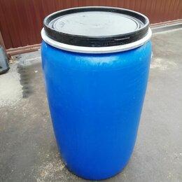 Бочки - Бочка пластмассовая 227 литров с крышкой , 0