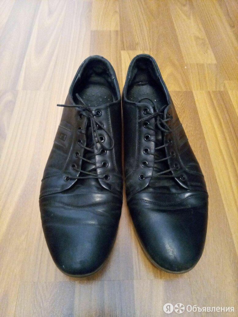 Мужские кожаные туфли 43 размера по цене 500₽ - Туфли, фото 0
