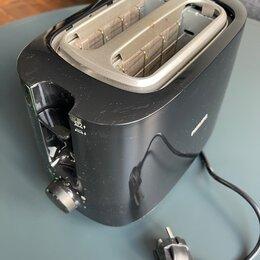 Тостеры - Тостер philips hd2582, черный, 0