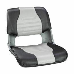 Походная мебель - Кресло складное мягкое SKIPPER, серый/темно-серый, 0