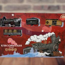 Детские железные дороги и автотреки - 6324 железная дорога на батарейках со светом и музыкой, 0