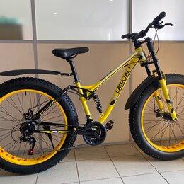 Велосипеды - Фэтбайк двухподвес с мотовилкой, 0