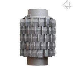 Коллекторы - Комплект чугунных теплоаккумулирующих дисков(5шт.) д.200, 0
