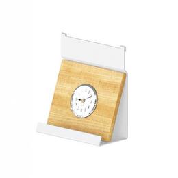 Ремешки для часов - Полка для часов низкая, 160х80х180мм, отделка белый бархат (матовый), 0