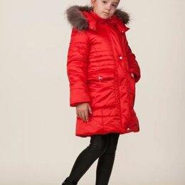 """Пальто - Пальто зимнее для девочки """"Грация"""", цвет алый, арт. 05104-6, размер 38-146, 0"""