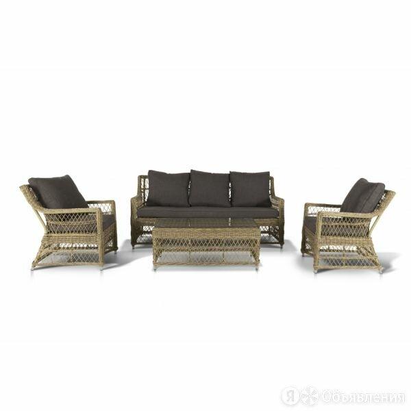 Комплект мебели из искусственного ротанга Гранд Латте по цене 224000₽ - Комплекты садовой мебели, фото 0