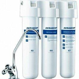 Фильтры для воды и комплектующие - Фильтр под мойкой Аквафор Кристалл А для жесткой воды, 0