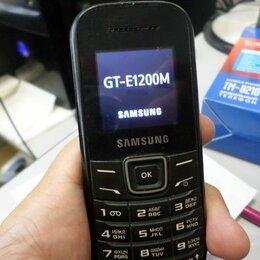 Мобильные телефоны - Samsung gt e1200 черный, 0