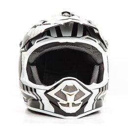 Спортивная защита - Шлем мото HIZER B6195, 0