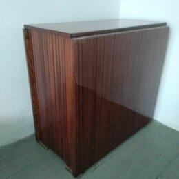 Столы и столики - Стол- книжка коричневый полированный, 0