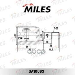 Трансмиссия  - Шрус Honda Cr-V 2.0 97-06 Внутр. Ga10063  GA100..., 0